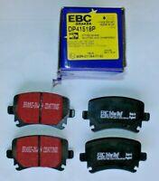 EBC DP41518P DP41518R Brake Pad Set REAR fits Altea Leon Octavia