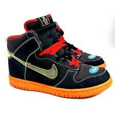 Nike Dunk Alto x Premium Botas Uk 7 Reproductor De Casete 306968-005 Diamante Skunk