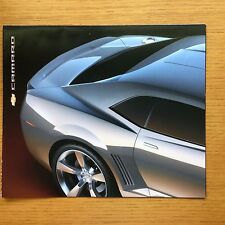 2006 Chevrolet Camaro Concept Sales Brochure 06 Chevy