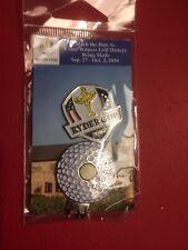 2016 Ryder Cup Hazeltine Golf Ball Hat Clip Set