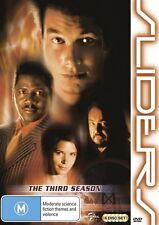Sliders : Season 3 (DVD, 2013, 6-Disc Set)