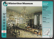 WINTERTHUR MUSEUM Chinese Parlor Photo 1996 GROLIER STORY OF AMERICA CARD