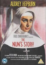 THE NUN'S STORY - Audrey Hepburn, Peter Finch. Directed by Fred Zinnemann (DVD)