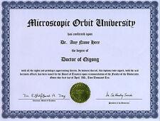 Doctor Qigong Novelty Diploma Six Healing Sounds Lover