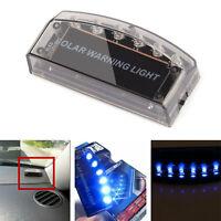 Auto Solar Power LED Dummy Alarm Warnung Sicherheit Anti-Diebstahl-Blinklicht