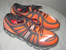 83fb31d8d8dad Mens Brooks Pure Flow 2 Orange Black Grey Running Shoes! Size 10  120.00