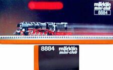Marklin Z Scale 8884 - 2-10-0 Black Steam Engine & Tender-Original Box C7 Tested