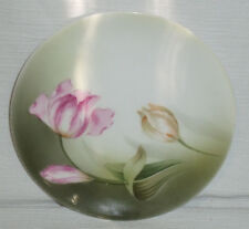 RS Germany Plate 6.25 Inch Pink Flower Vtg