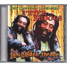 Sealed Music CD Reggae Peter Broggs Jah Golden Throne Roots