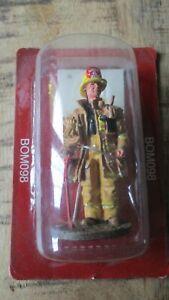 Del Prado-Figurine collector-Pompier de Los Angeles en tenue- 2002-sous blister