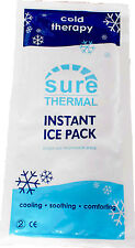 Sure Thermal Large Instant Ice Packs Small Sports Injury Pain Relief