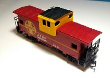 Vintage Bachmann Atsf #999628 Santa Fe Ho Scale Wide Vision Caboose with Box