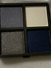 Ulta Beauty Eye Shadow Quad Shimmer Blue, Matte White, Shimmer Pewter, royal blu