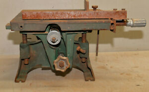 """Rare 8"""" Montgomery Ward bench table saw pattern maker collectible wood tool"""