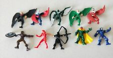 RANDOM!! Marvel Set of 10 Superheroes Mini Action Figures  (New Without Tags)