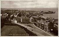 Dunbar Schottland Scotland Great Britain Postcard 1927 Teilansicht vom Kirchturm