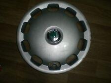 "14"" Skoda wheel trim hub cap wheel cover, one, genuine"