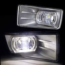 Fit 2007-2015 Chevrolet Chevy Silverado 1500 Built-in LED 6000K Fog Lights