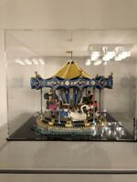 Acrylic display case for LEGO Carousel 10257 ( Australia Top Rated Seller)