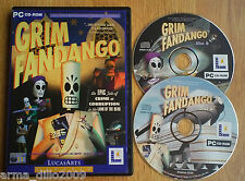 GRIM FANDANGO for PC COMPLETE by Lucas Arts WITH FREE UK P&P