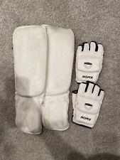 Taekwondo Shin guards and Gloves