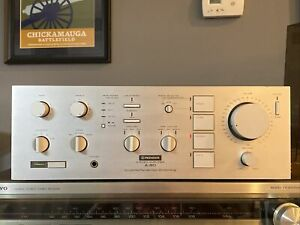 Pioneer A-80 Stereo Amplifier — 150 wpc, professionally refurbished, ex. cond.