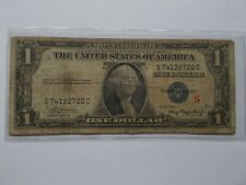 Series 1935A RARE Experimental note (S) $1. Silver Certificate.