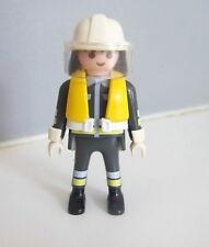 PLAYMOBIL (G2216) POMPIERS - Pompier d'Intervention avec Gilet de Sauvetage 3128