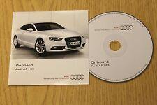 Original Audi A5 S5 Onboard CD Disc Handbook Handbuch 152.565.8T0.88