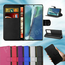 For Samsung Galaxy Note 20, Note 20 Ultra Premium Flip Leather Wallet Stand Case