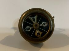 Antique Marble Arm's Brass Pin on Uniform Compass 1920