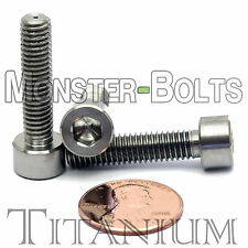6mm x 1.0 x 25mm - Titanium Socket Head Cap Screw - DIN 912 Grade 5 Ti M6 Hex
