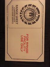 Battlestar Galactica Cylon Range Sheet Target Poster - 2 Sheets- Loot Crate