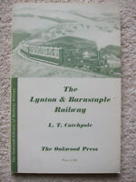The Lynton & Barnstaple Railway by LT Catchpole (6th Ed, Paperback, 1983)