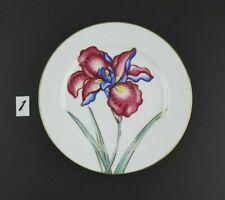 Fitz and Floyd Hand Painted La Belle Fleur Fine Porcelain 9 Inch Plate #1