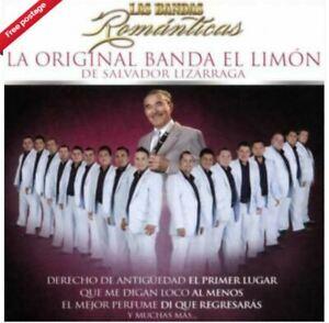La Original Banda el Limón de Salvador Lizárraga - Bandas Romanticas CD VGC