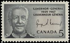 """CANADA 474 - Governor General Georges Vanier """"Dull Paper"""" (pf66498)"""