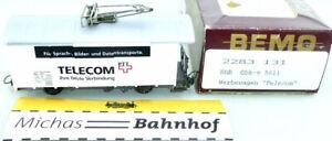 Bemo Rhb Oberleitungsrevision Telecom Gbk-V 5611 Advertising 2283 131 H0m Ob Å