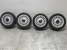 "2013 FIAT 500 15 "" INCH ALLOY WHEELS + 185 55 15 TYRES 51845435"