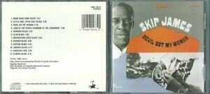 Skip James  CD  Devil got my woman    Vanguard  Blues  TBE