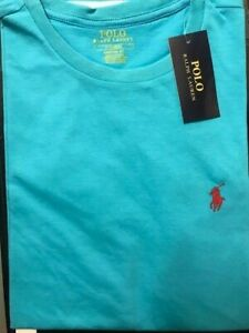 Ralph Lauren Tshirt( Colour: Tourish. Size: S) Brand New
