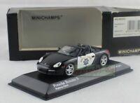 1/43 Scale MINICHAMPS Porsche Boxster S Highway Patrol Diecast