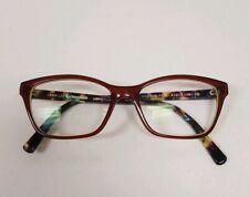 Jean Lafont Paris Oceane 5093 51/15 Tortoise Women Designer Eyeglass Frames