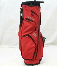 New Ogio Club Me Cart bag 14-Way Top Cart Golf Bag - Red