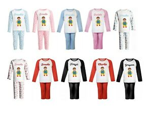 Mr Tumble Personalised Pyjamas with embroidered name - 8 Styles available