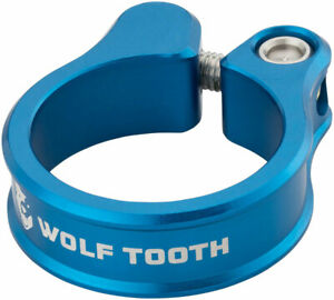 Seatpost Clamp - Wolf Tooth Seatpost Clamp 36.4mm Blue - Seatpost Clamp