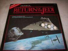 LP - THE STORY OF RETURN OF THE JEDI - BOOKLET - MUSIC AND DIALOGUE - U.S.A.