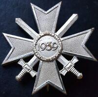 ✚7796✚ German Army War Merit Cross First Class medal post WW2 1957 pattern ST&L
