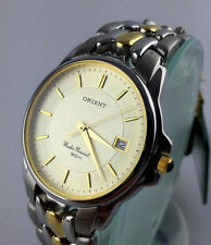 OROLOGIO Orient Cun35000c classic WATCH JAPAN DATE WATER RESISTENT RELOJ VINTAGE