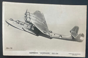 Mint England Real Picture Postcard German Dornier DO 24